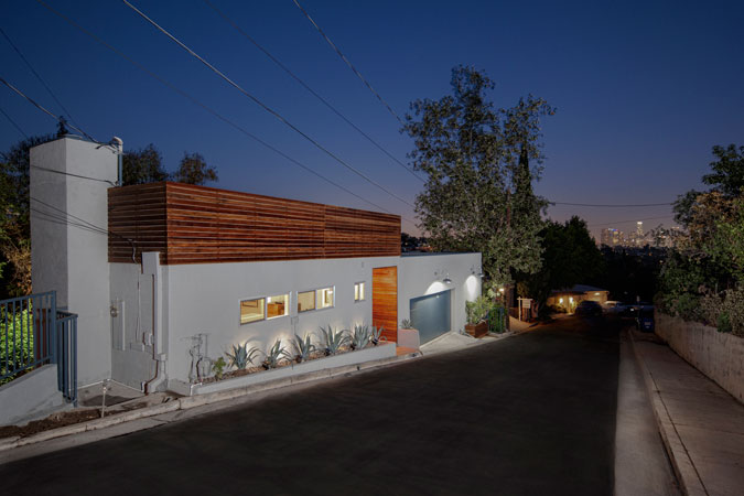 Silver Lake Exterior House Renovation