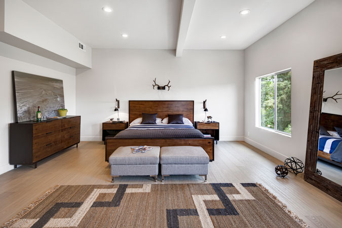 Silver Lake Master Bedroom Remodeling