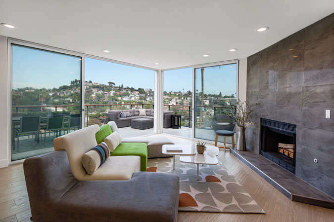 Silver Lake Living Room Remodeling